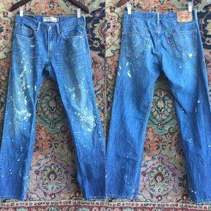 Levi's 559 Jeans Men's Paint Splatter